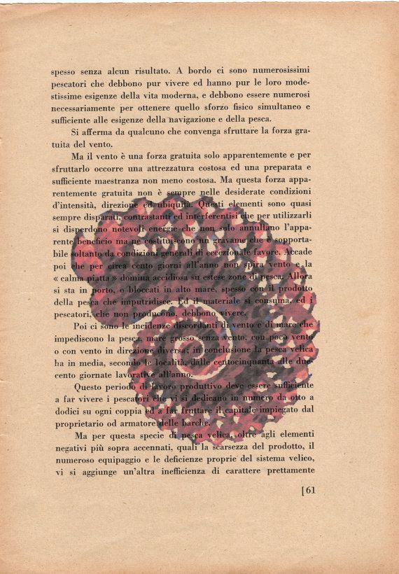 Pag. 61 Conchiglia colore rosso polvere di StonesInLove su Etsy