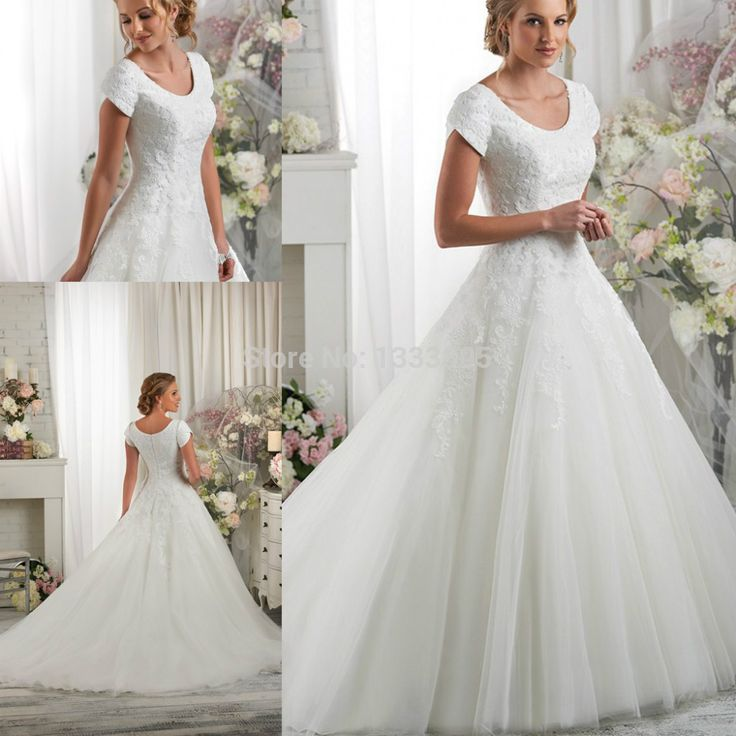 Cheap beaded pipe, Buy Quality dress dancer directly from China beaded empire waist dress Suppliers: Modest Boat Neckline Ball Gown Appliqued Beaded Wedding Dress With Short Sleeve Vestido De Noiva Bridal Gown******