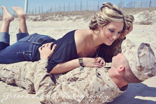 military couple pictures. This is way cute :) Maybe have to do a shoot with Clynn before I hang up the uniform for good.