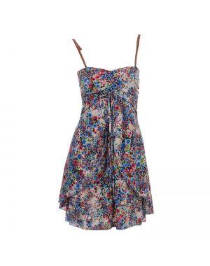Εμπριμέ φόρεμα ραντάκι.