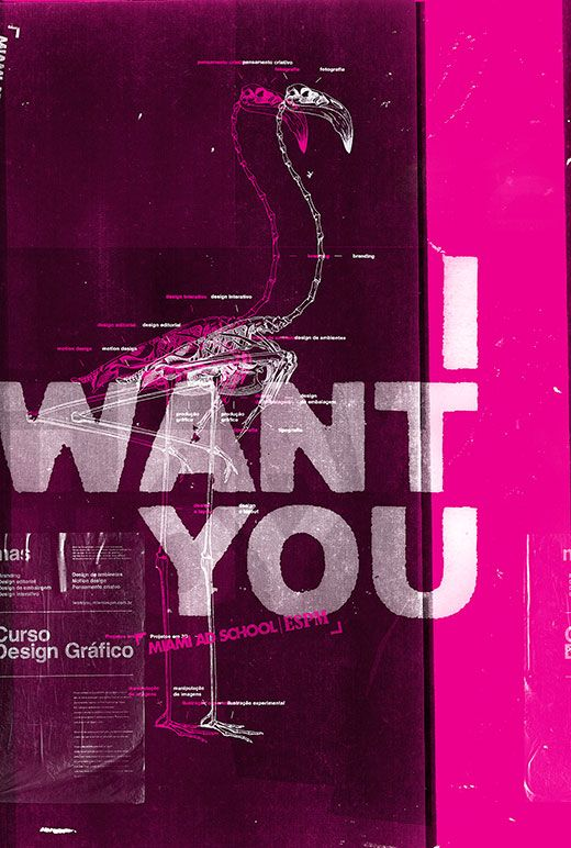 Miami Ad School - I Want You | Marcelo Ribeiro