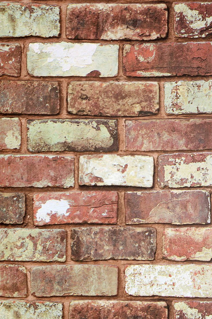 Graham & Brown Red Brick Wallpaper - Urban Outfitters