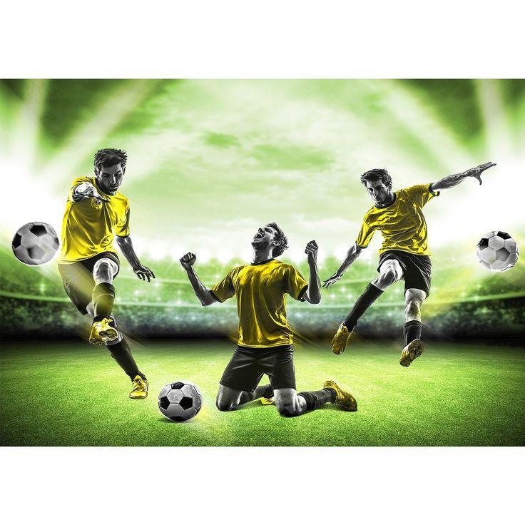 Vlies Fototapete 'Fussball' 308x220 cm - 9049010b RUNA Tapete !!! 100% MADE IN GERMANY !!!: Amazon.de: Küche & Haushalt