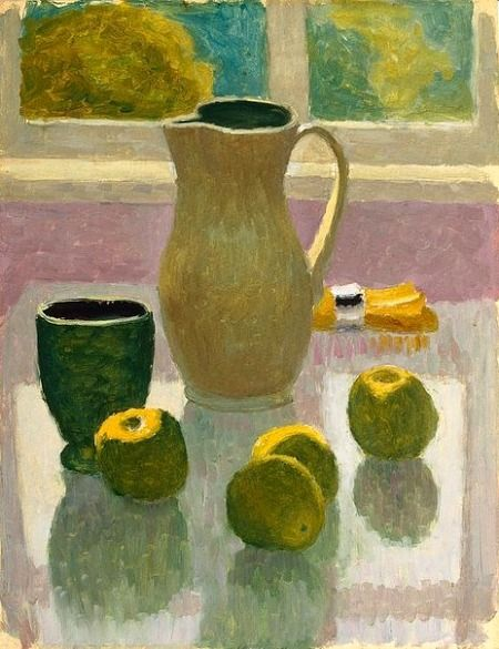 Roland Wakelin  Still Life with Jug and Apples   1964