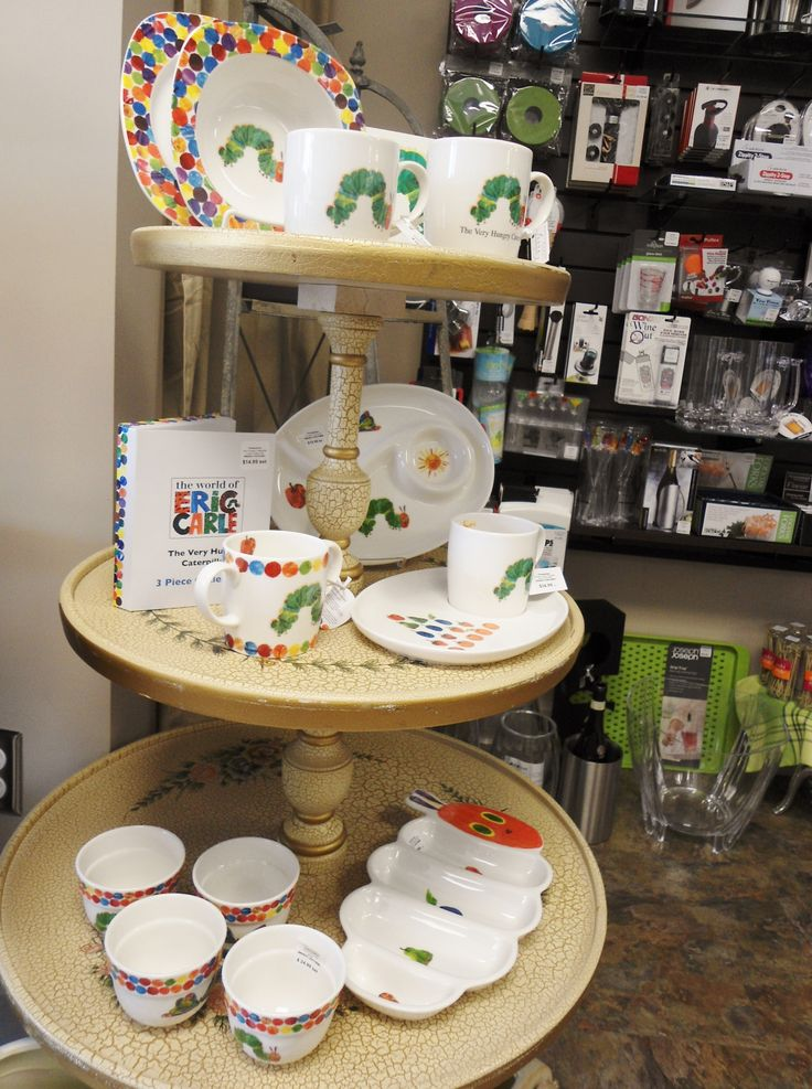 Fun and sweet Very Hungry Caterpillar dish collection at the Culinary Poet!