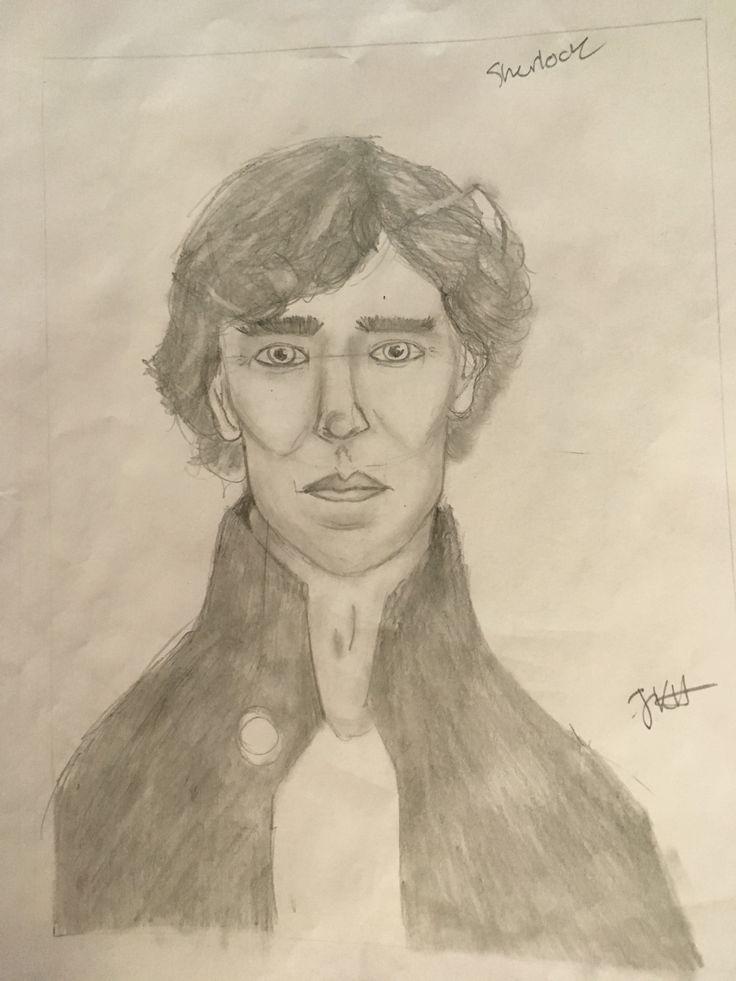 My Sherlock drawing!