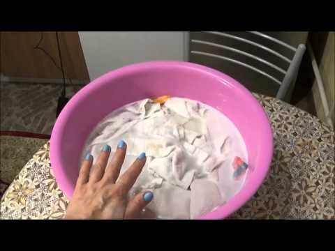 Отбеливать полотенца от пятен и шрязи