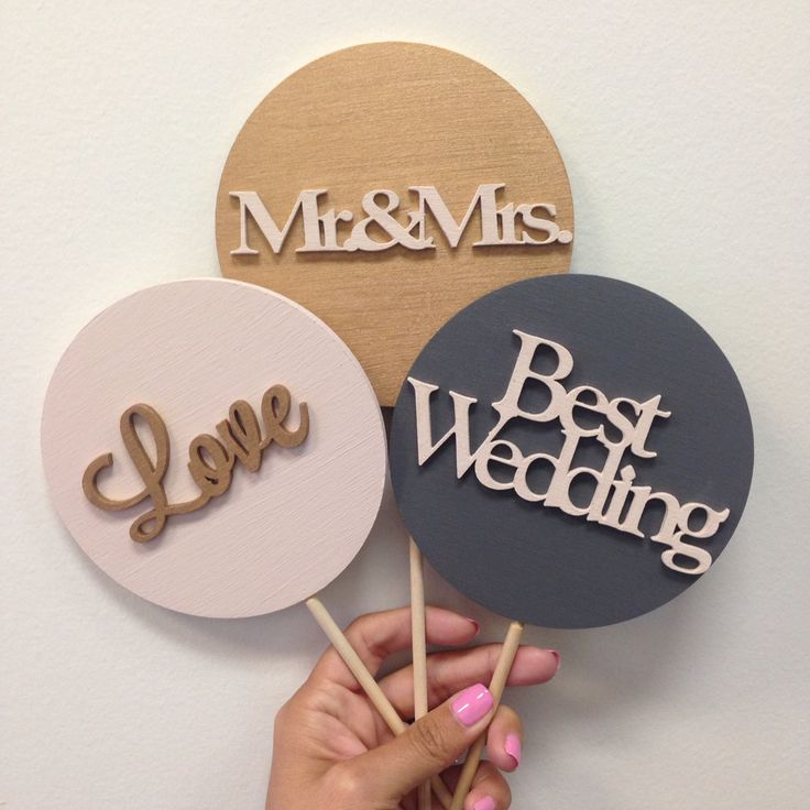 Adorable made to order photo booth props