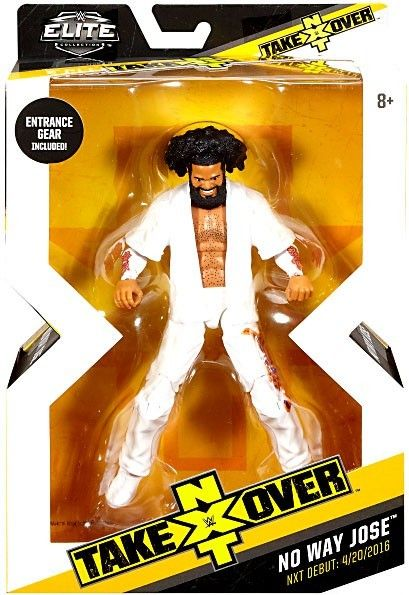 WWE Wrestling Elite NXT Takeover No Way Jose Exclusive Action Figure
