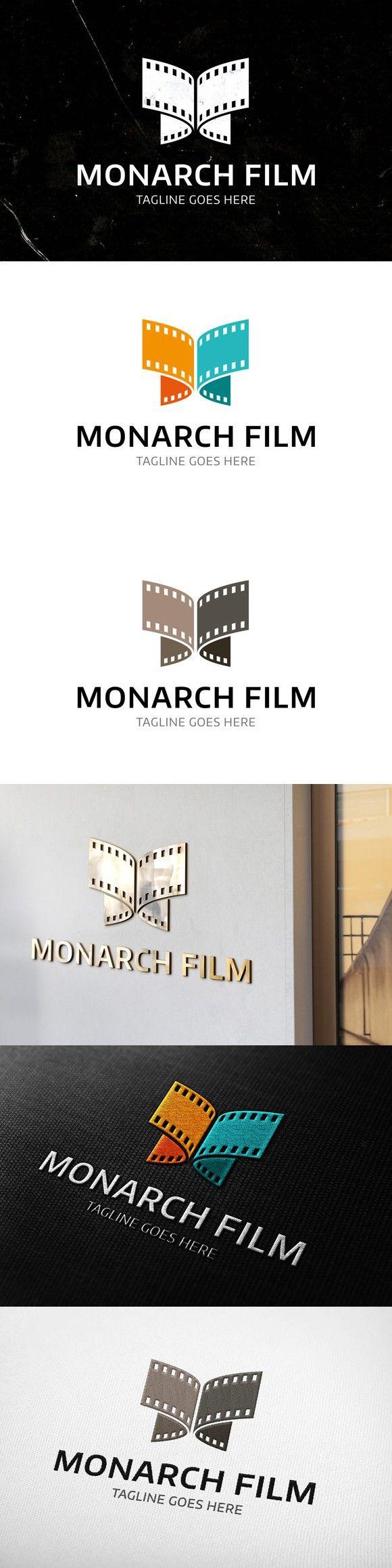 Monarch Film Logo Template. Logo Templates. $25.00