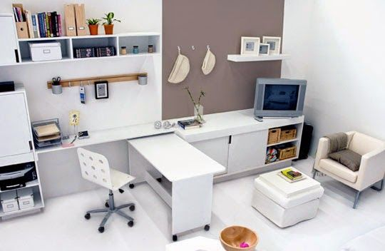 ev ofisi dekorasyonu