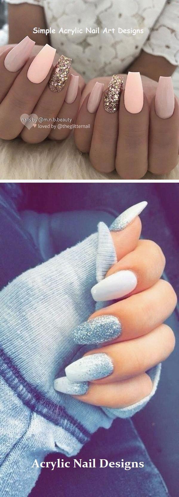 20 TOLLE IDEEN, WIE SIE ACRYLNÄGEL SELBST HERSTELLEN KÖNNEN #acrylnägel – Nails