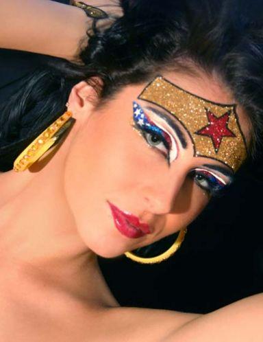 Sexy Wonder Woman Face Kit