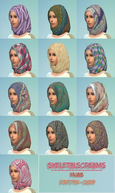 Skeletalscreams : Hijab