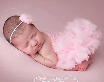 Vestido blanco de recién nacidos accesorios de por TheDamaskBaby