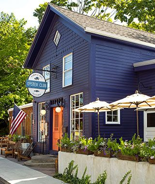 Travel + Leisure | Best Oyster Bars in America | Oyster Club, Mystic, CT