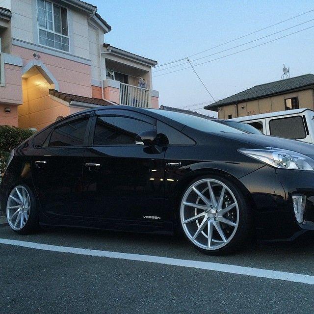 Toyota Prius 4th Generation: Vossen Instagram Media By Koutantanw