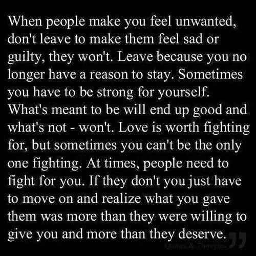 So true learned the hard way