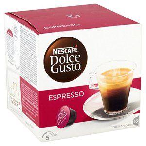 Nescafé – Dolce Gusto Espresso – Pack de 3 Sachets (48 Capsules)