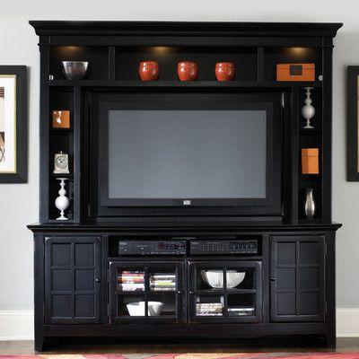 Nebraska Furniture Mart U2013 Liberty New Generation Entertainment TV Stand In  Rubbed Black
