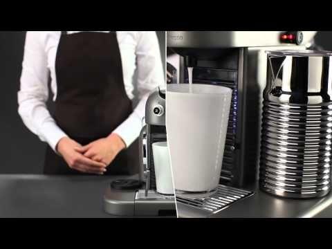 Nespresso Gran Maestria: How To descale your Gran Maestria machine - YouTube