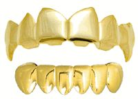 Grillz, Gold Teeth, Fang Grillz, Mouth Grills