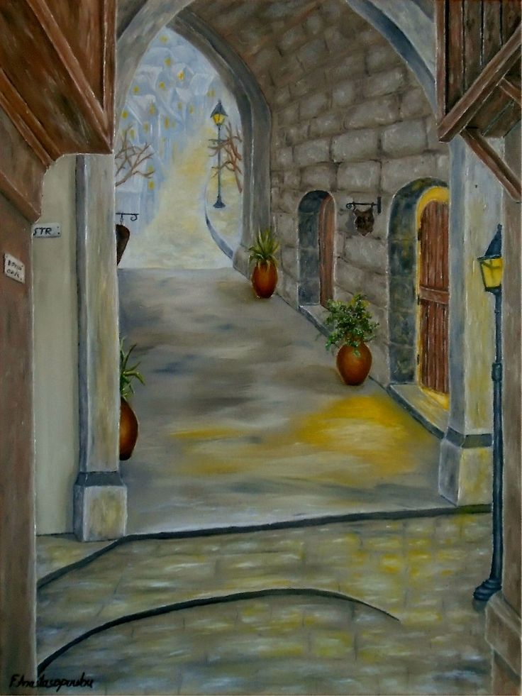 Medieval Theme,  painting