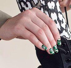 How-To: Camo Nail Art Design