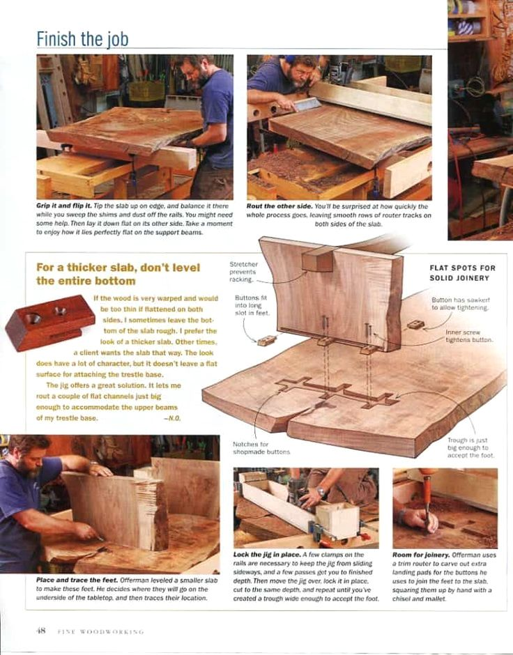 Nick Wrote An Article In Fine Woodworking Magazine About His Tricks For Levelling Huge Slabs Fine Woodworking Magazine Fine Woodworking Wood Crafting Tools