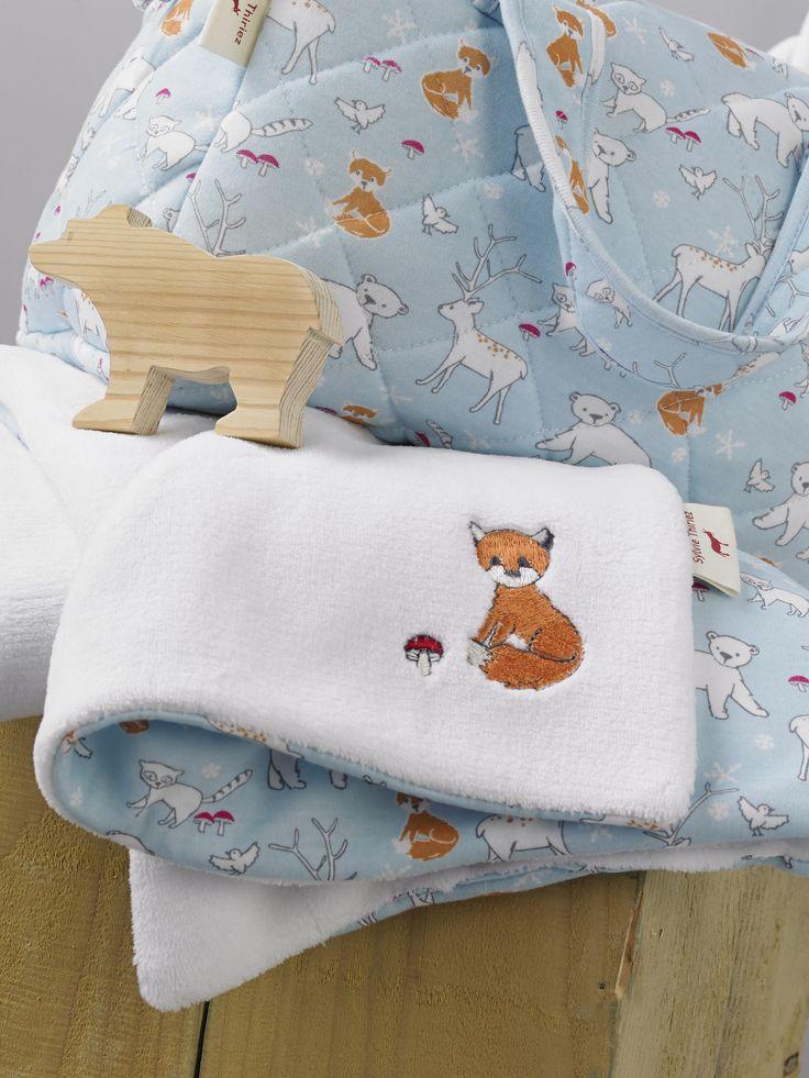 Collection de layette foxy par sylvie thiriez automne for Sylvie thiriez