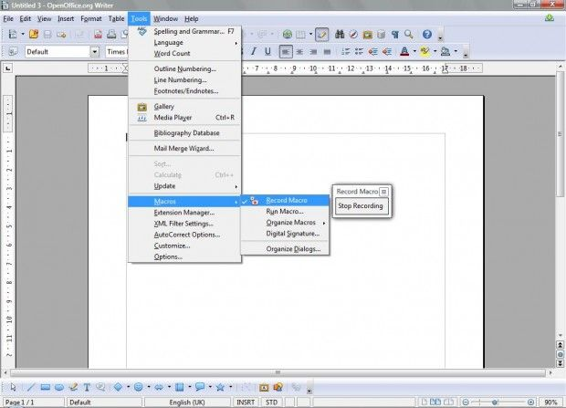 How to record and create macros for free with OpenOffice [Guide]