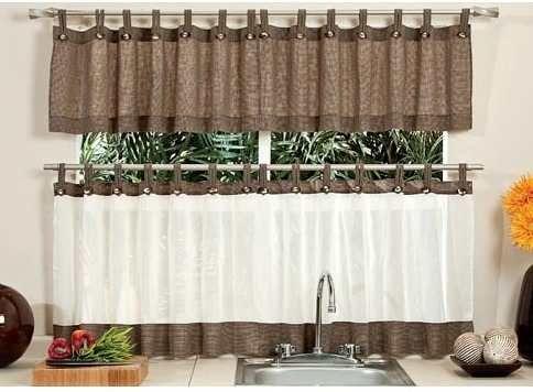M s de 25 ideas incre bles sobre cortinas para cocina en for Cortinas para cocinas pequenas