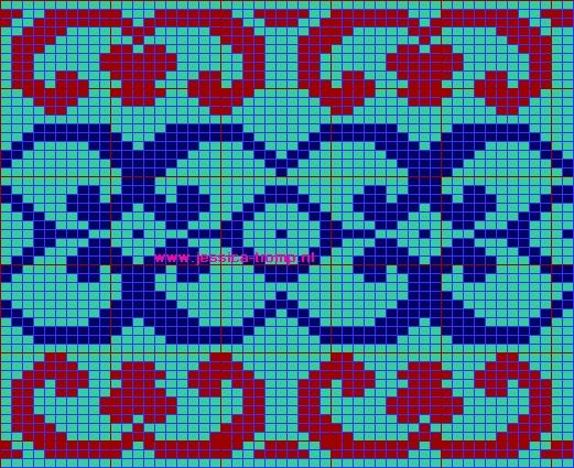 Intarsia Knitting Pattern Generator ~ Gorink.info for .