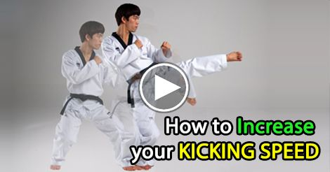 Here, we talk about improving kick speed by combining more traditional style Taekwondo aspects.