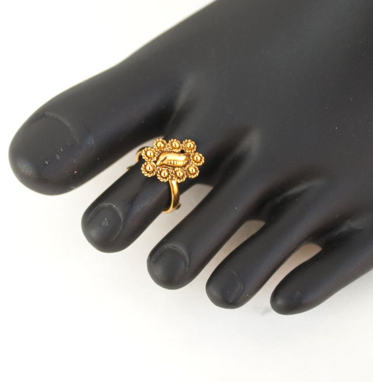 """""""Bichua"""" meaning """"scorpian ring"""" , this is what toe ring is called in India. Traditionally worn by brides since a century ago brides had to wear long veils so this """"Bichua"""" symbolized a married woman."""