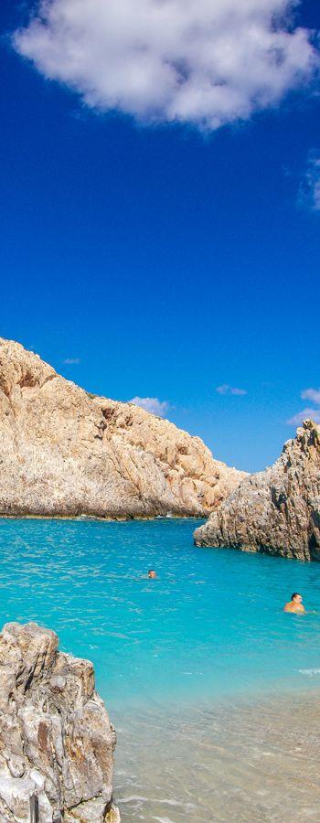 Summer pictures through winter - Seitan limania in Chania, Crete