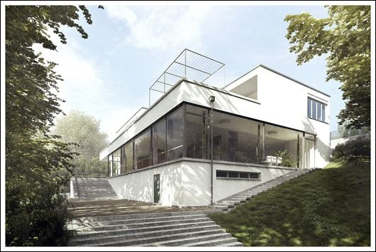 Tugendhat House (1930) Brno, Czechoslovakia. Architect: Ludwig Mies van der Rohe