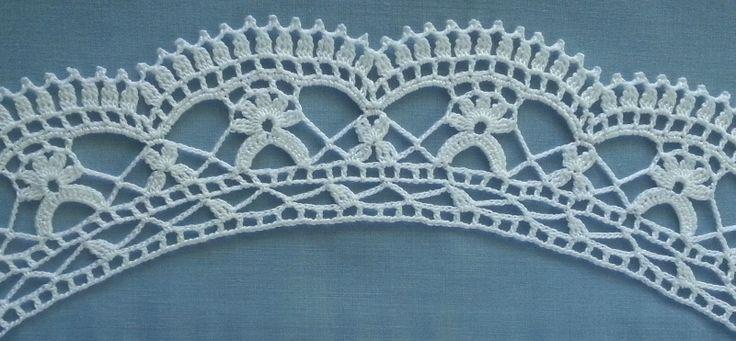 14 best yarn - collars images on Pinterest | Crochet collar pattern ...