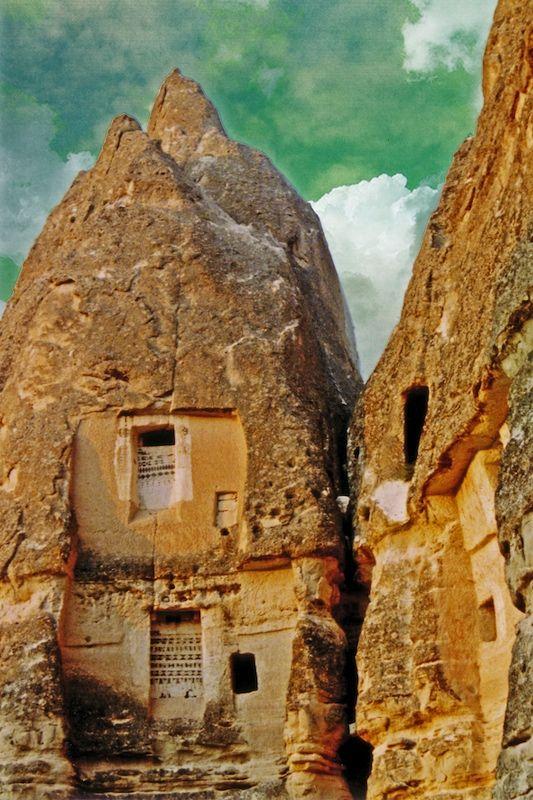 Church Ruins in Goreme, Turkey