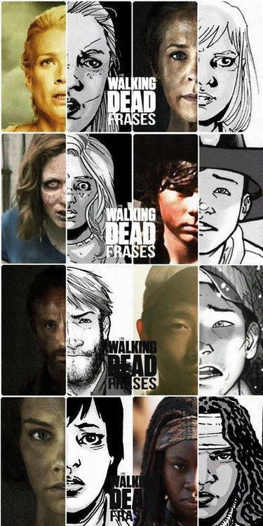 ugh comic carl looks like duck from the walking dead game.......I hated Duck
