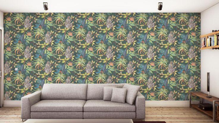 Image result for Savuti wallpaper by Cole & Son. Cole