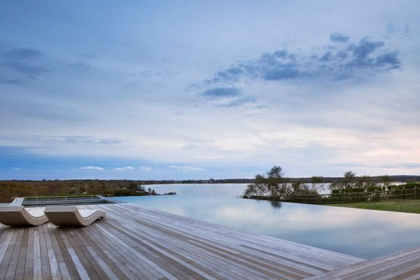 """Situated along the banks of Montauk, New York, with its unpredictable weather patterns and storied charm, the Genius Loci residence embodies the """"Spirit of Montauk"""" as Bates Masi Architects were able to capture that feel and incorporate it into the design."""