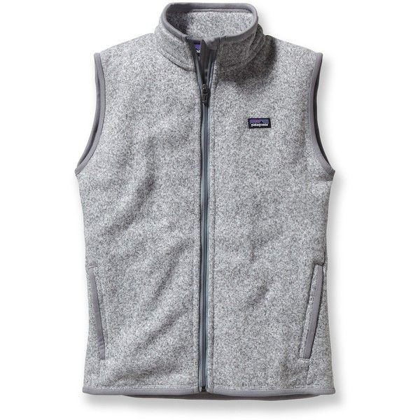 Patagonia Better Sweater Fleece Vest ($99) ❤ liked on Polyvore featuring outerwear, vests, jackets, patagonia, coats, vest waistcoat, patagonia vest and fleece vest