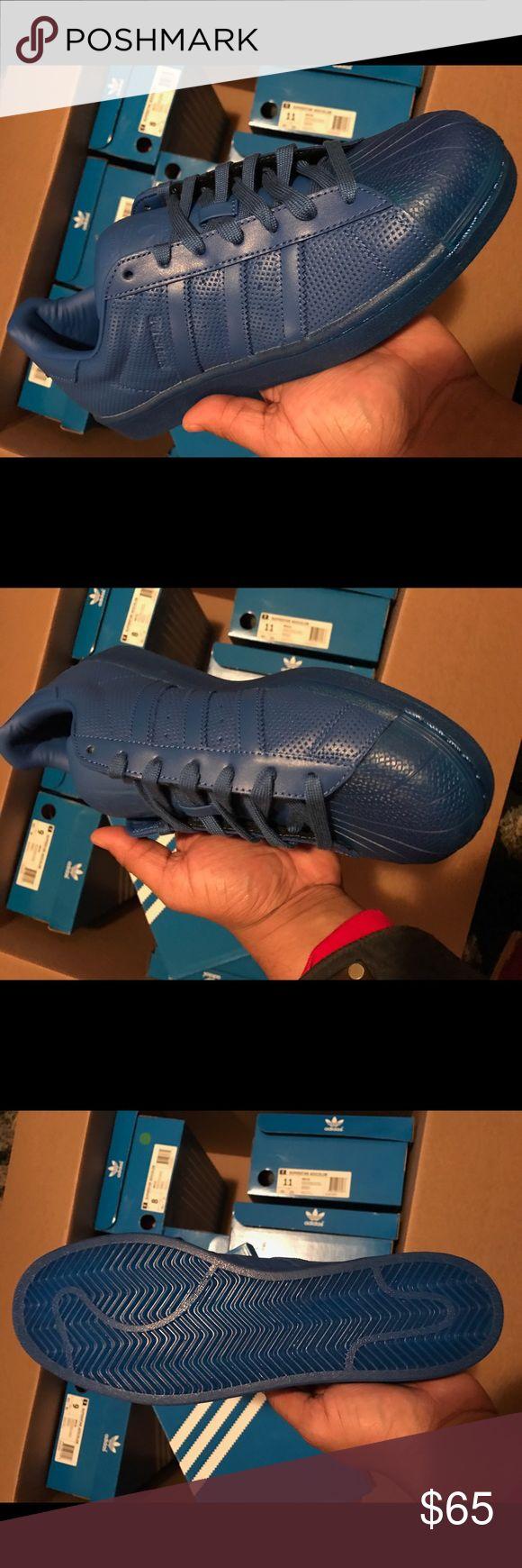 Men's Adidas Superstar Adicolor Brand New in Original Box !! 100% AUTHENTIC !! Adidas Shoes Sneakers