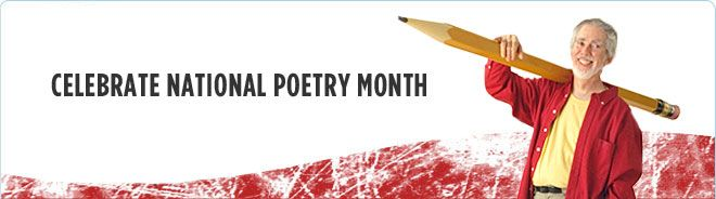 April is National Poetry Month - Lots of Resources from Scholastic