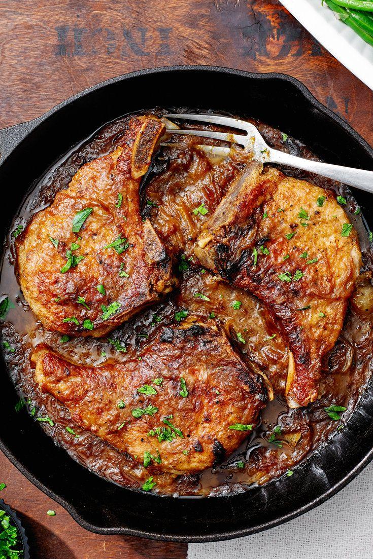Best 25+ Smothered Porkchops Ideas On Pinterest  Pork Chops With  Mushrooms, Crockpot Pork Chop Recipes And Smothered Pork Chops Recipe