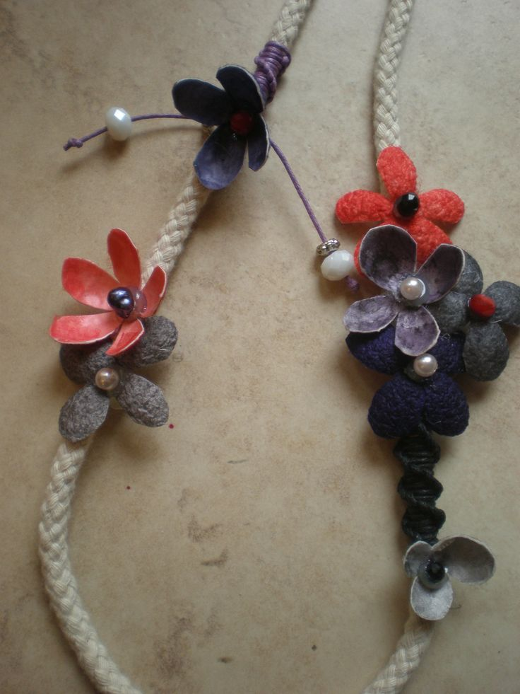 SILK COCOONS NECKLACES