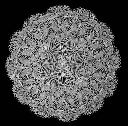 36 best Knit lace doily images on Pinterest | Crochet doilies ...