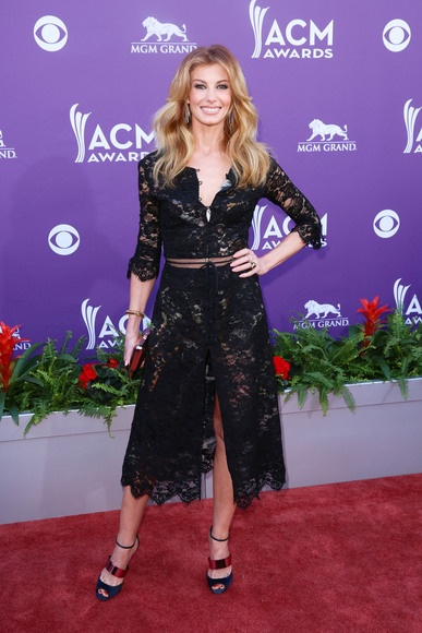 Faith Hill attending the Country Music Awards at the MGM Grand Garden Arena in Las Vegas, Nevada - April 7, 2013 - Runway Manhattan/AFF
