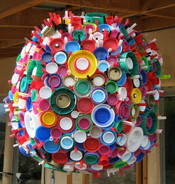 154 best recycled art ideas images on pinterest for Art craft using waste materials